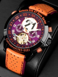 Calvaneo 1583 Astonia  Silk Race - Limited Racewatch - Automatikuhr