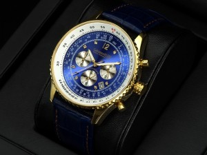 Defcon Diamond Gold BLUE, (Vergoldet), Calvaneo 1583