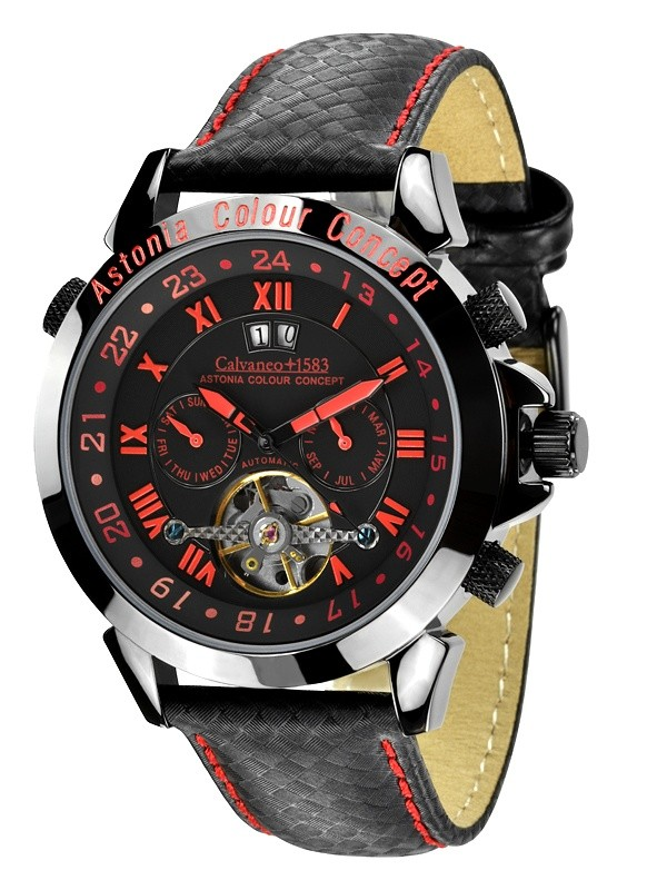 "1583 Astonia Color Concept Edition Automatik ""Red Fireline"
